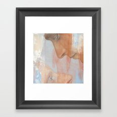 Seen Framed Art Print