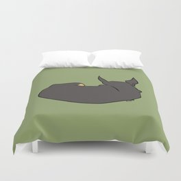 Chihuahua in Repose Duvet Cover