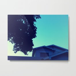 Late One Summer Evening Metal Print