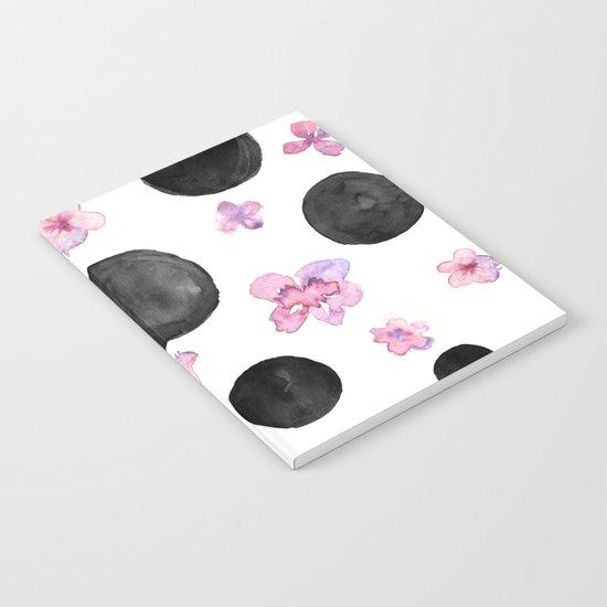 Flora dots Notebook