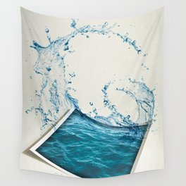 Water Color Wall Tapestry