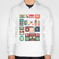 technology Hoodies featuring Retro Technology 1.0 by Ralph Cifra