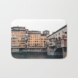 italian Architecture in Florence Bath Mat