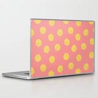 shingeki no kyojin Laptop & iPad Skins featuring Armin Blanket (Shingeki! Kyojin Chuugakkou) by kaposiopesis