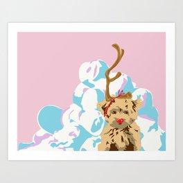 Merry Grinchmas Art Print