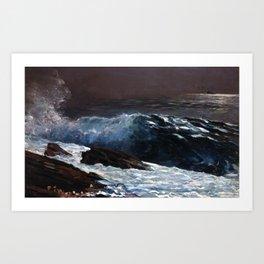 Winslow Homer - Sunlight on the Coast Art Print
