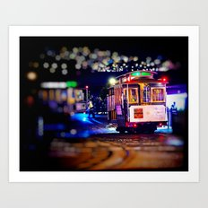 Late Night Transportation Art Print