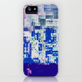 GLITCHY iPhone Case