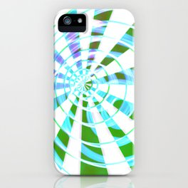 GREEN HYPNO iPhone Case