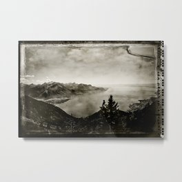 Vintage Switzerland Metal Print