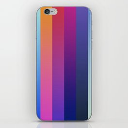 100 Bands iPhone Skin