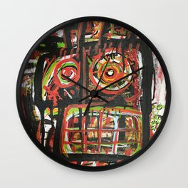 Funny Face Wall Clock