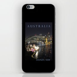 Sydney Night Lights iPhone Skin