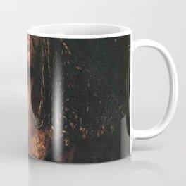 Self-Portrait in a Fur-Collared Robe Coffee Mug