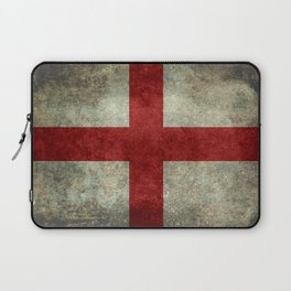 Flag of England (St. George's Cross) Vintage retro style Laptop Sleeve