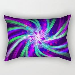 molecular memory Rectangular Pillow
