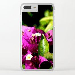 More Bougainvillea DPPA161204a-17 Clear iPhone Case