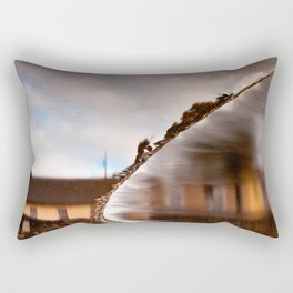 Flowing Water Abstract Rectangular Pillow