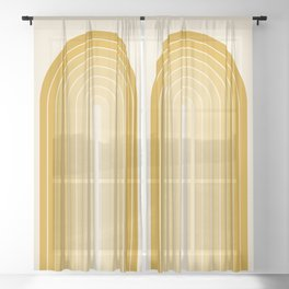 Gradient Arch XXV Sheer Curtain