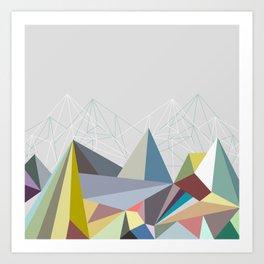 Colorflash 1 Art Print