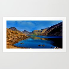 Wastwater English Lake District Art Print