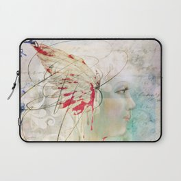 All My Tomorrows Begin Today Laptop Sleeve