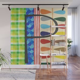 P is for Pattern Wall Mural