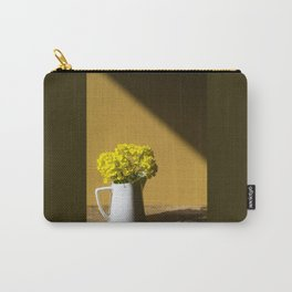 Good morning sunshine- rapeseed flowers and white mug Carry-All Pouch