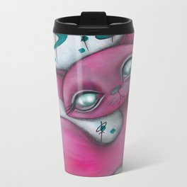 Jane cat Metal Travel Mug