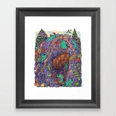 The Pizza Mine Framed Art Print