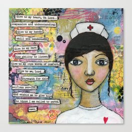 Nurse Canvas Print