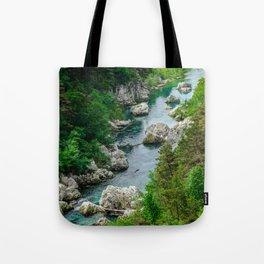 Verdon river, Verdon gorges, France Tote Bag