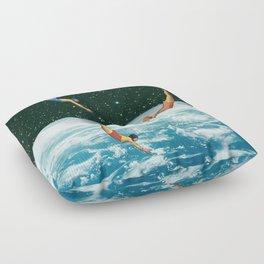 Space jumps Floor Pillow