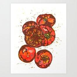 Tomatoes Art Print