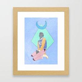 The Hound Framed Art Print