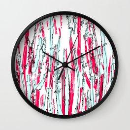 Scribbly 2 Wall Clock