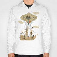 pirates Hoodies featuring sky pirates by bri.buckley