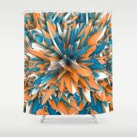 splash Shower Curtains featuring Splash by Danny Ivan