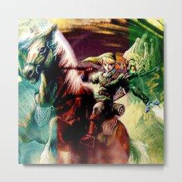 Zelda legend Metal Print