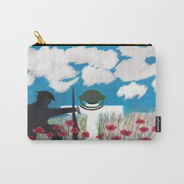 What does war achieve? Carry-All Pouch