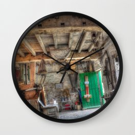 New Hall Water Mill Wall Clock