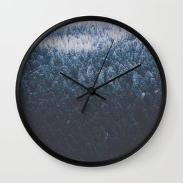 Canyon Frost Wall Clock