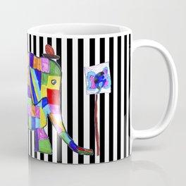 Elephant Festival |Family Walk | #society6 Coffee Mug
