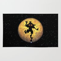 majora Area & Throw Rugs featuring majora mask by neutrone