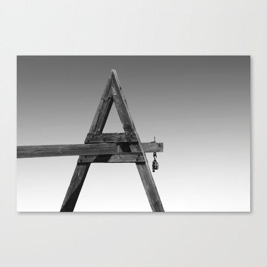 Form A Canvas Print