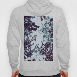 Magical Colorful Pastel Plant Leaves Pink Turquoise Hoody