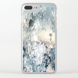 Snow angel Clear iPhone Case