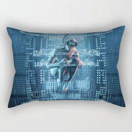 Virtual Dreams Reloaded Rectangular Pillow