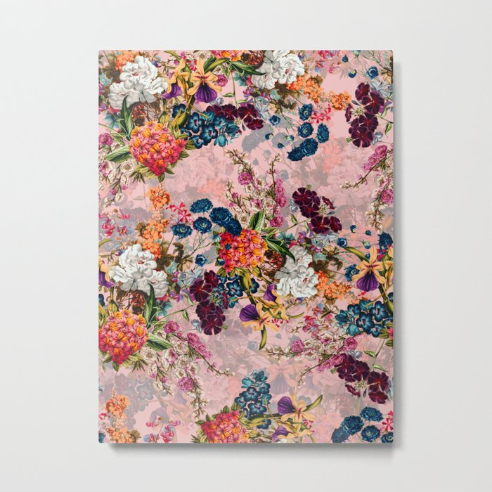 Summer Botanical Garden VIII - II Metal Print