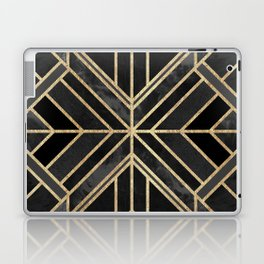 Geo Black Marble Dream Laptop & iPad Skin